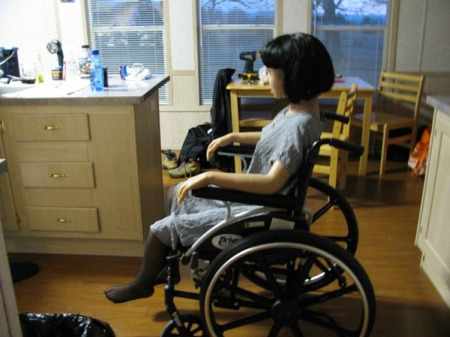 Real Doll Wheelchair